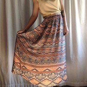 Desert Hues Maxi Skirt